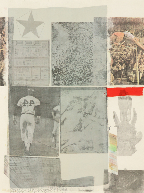 Robert Rauschenberg, 'Back Out', 1979, Heather James Gallery Auction