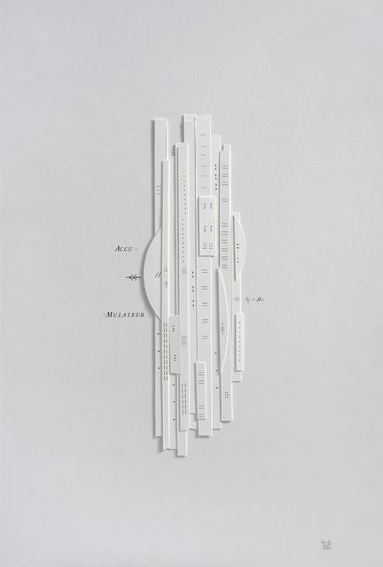 , 'Accumulateur 0,' 1994, Alejandra von Hartz Gallery