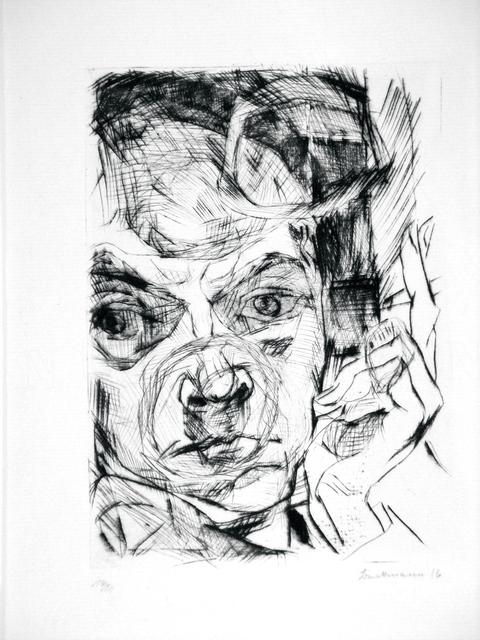, 'The Smoker,' 1916, Worthington Gallery