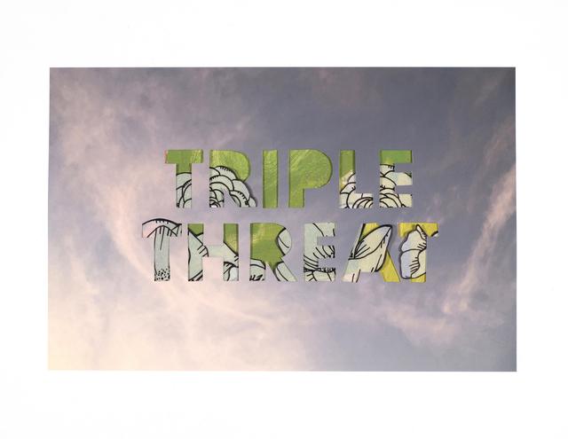 , 'Triple Threat (de Kooning),' 2019, Garis & Hahn