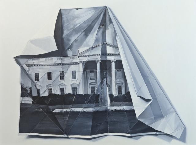, 'Folded Home,' 2015, Galleria Ca' d'Oro