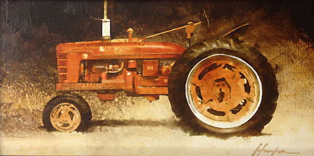 , 'Farmall Red (Study),' 2018, West Branch Gallery