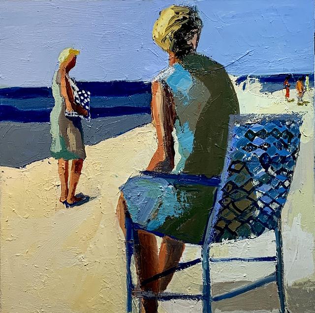 Linda Christensen, 'Parallel', 2020, Painting, Oil on canvas, Sue Greenwood Fine Art