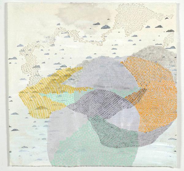 , 'Icelandic Meditation 2 (Sediment),' 2012, K. Imperial Fine Art