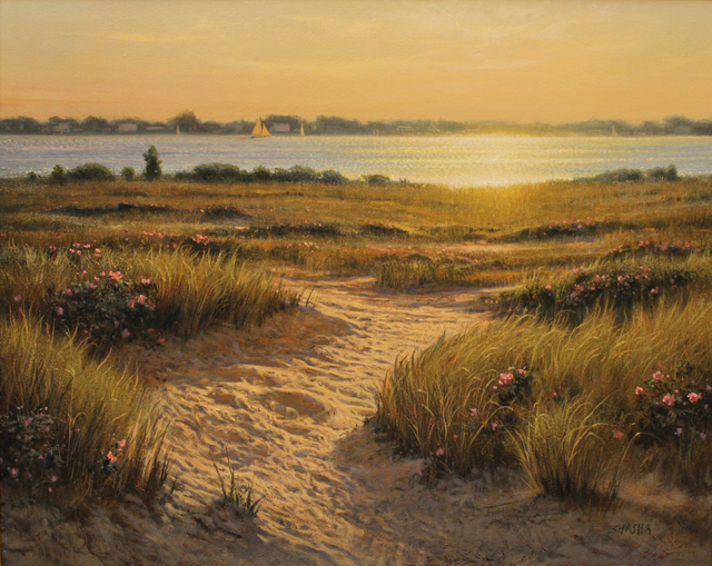 Mark Shasha, 'Afternoon Serendipity', 2018, Painting, Oil, The Guild of Boston Artists