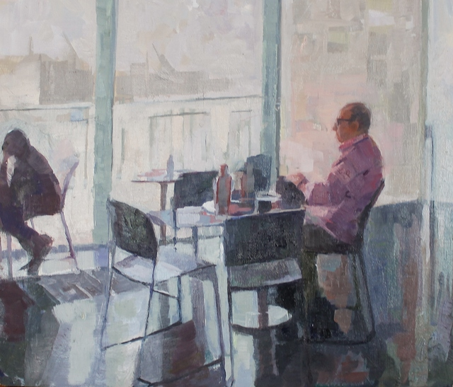 , 'Cafe Gallery study,' , Castlegate House Gallery