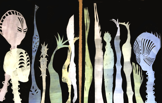 , 'Wanderlust in the Succulent Fields,' 2017, Deep Space Gallery