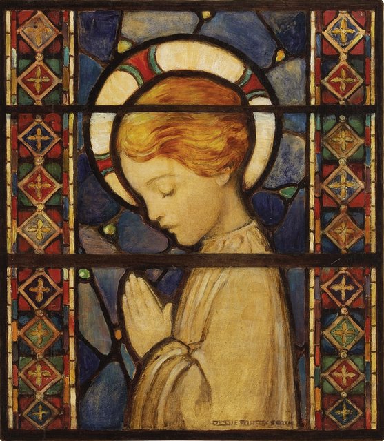 , 'Child Praying  ( Golden Age of Illustration),' 1920, Robert Funk Fine Art