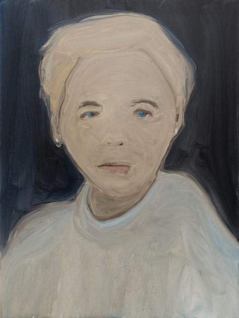 , 'Blue Wool,' 2017, Galerie Thomas Fuchs