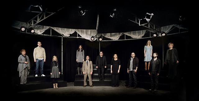 , 'Panorama (New economy) II. Instituciones. Serie Mise en Scène XIII,' 2010, Rosa.Santos