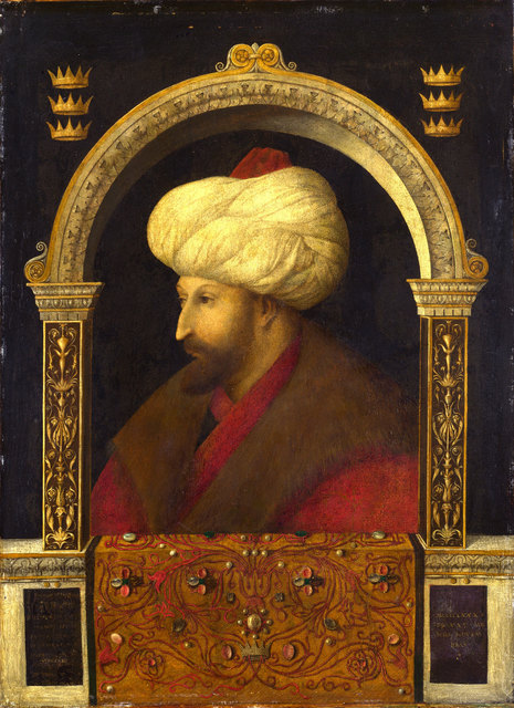 , 'Portrait of Sultan Mehmet II,' 1480, Centre for Fine Arts (BOZAR)