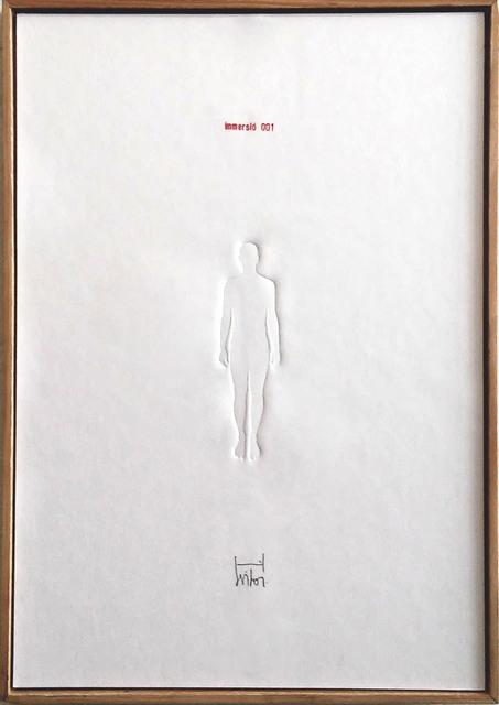 , 'Immersió 001,' 2014, Anquins Galeria