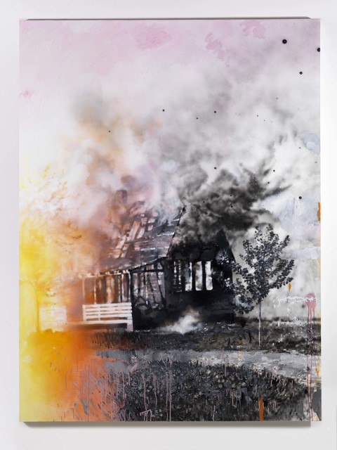 , 'House on fire (after Walker Evans 1935),' 2018, Alfonso Artiaco