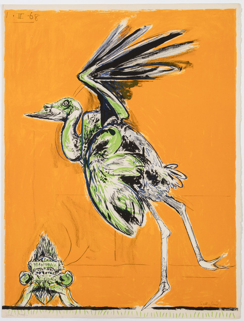 , 'Bird (about to take flight),' 1968, Marlborough London