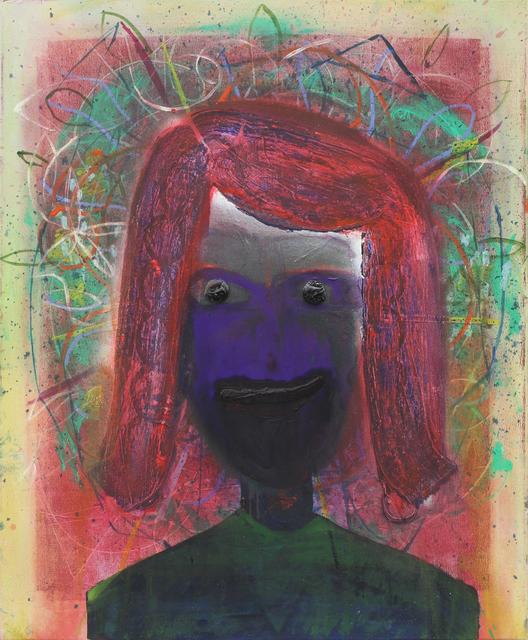 , 'Untitled (portrait),' 2012, Jahn und Jahn