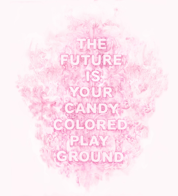 Amanda Manitach, 'The Future Is Your Candy Colored Playground', 2019, Winston Wächter Fine Art