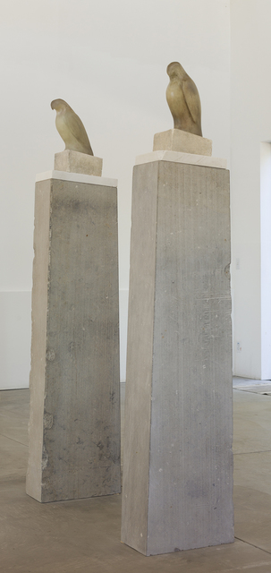 , 'Grey White Column (Left) & Grey White Column (Right),' , Gail Severn Gallery