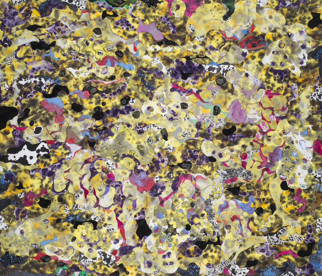 , 'Bubbling Mesh ,' 2015, 101/EXHIBIT