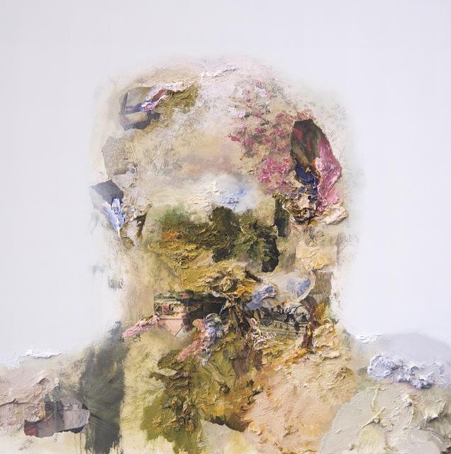 , 'Quai Branly Head V,' 2018, Opera Gallery