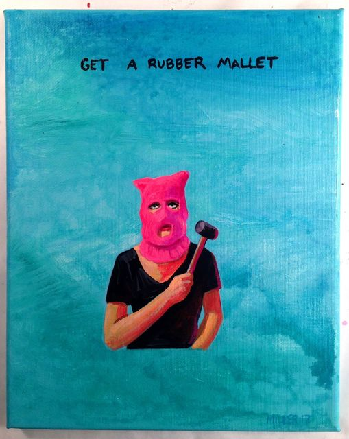 Cathey Miller, 'Get a Mallet', 2017, Ro2 Art