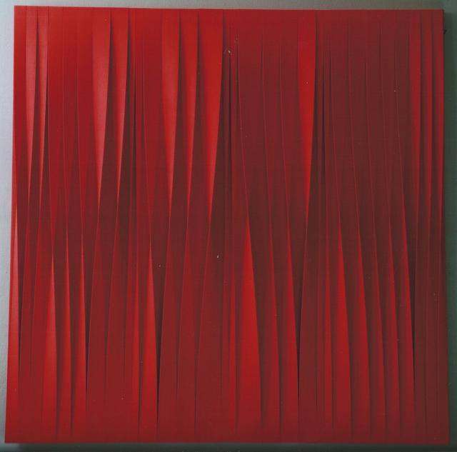 , 'Sincronico rosso fuoco,' 2015, Lattuada Studio