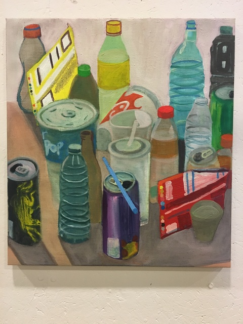, 'Objects with a Blue Straw,' 2018, Mindy Solomon Gallery