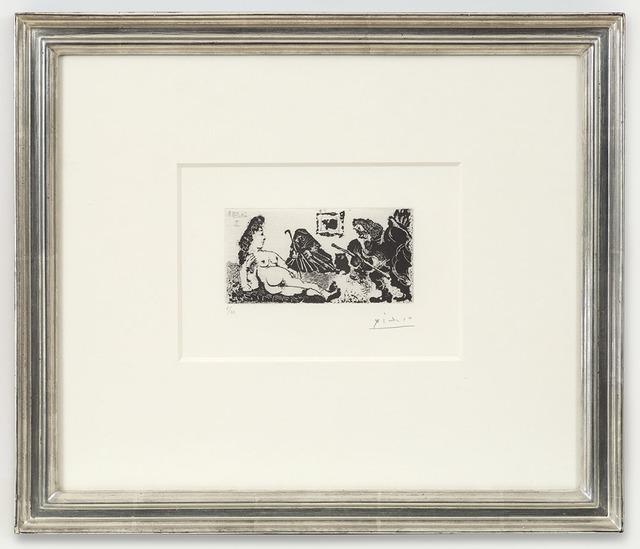 , 'Vieux beau saluant très bas une pupille de la Célestine, 26.5.68 II,' 1968, Alan Cristea Gallery