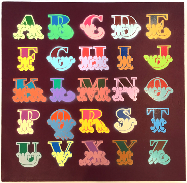, 'Circus A - Z (Matte Maroon),' 2006, Hang-Up Gallery