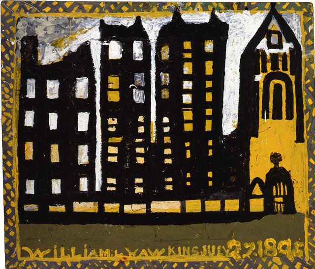 William Hawkins, 'Columbus Buildings', 1988, Ricco/Maresca Gallery