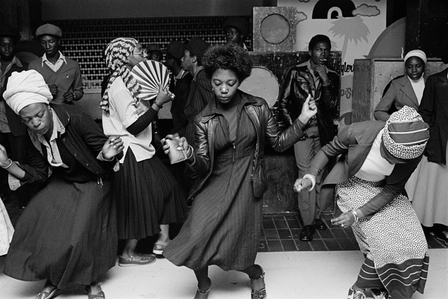 , 'Girls dancing in a youth club, Wolverhampton,' 1978, The Photographers' Gallery