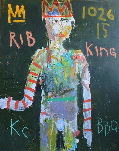 , 'Rib King,' 2017, Rice Polak Gallery