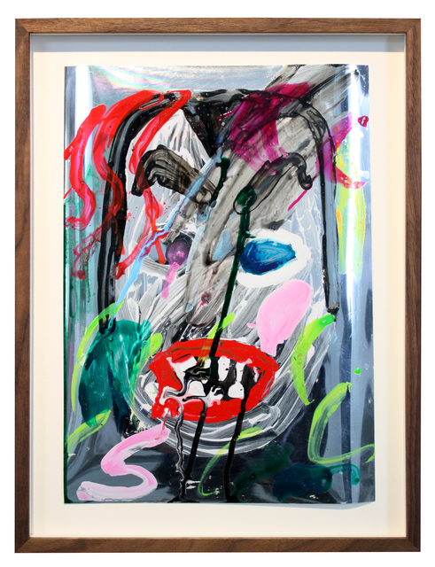 , 'Maske 1,' 2018, Galerie Judith Andreae