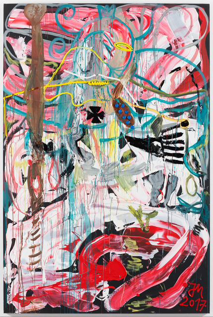 """, '""""DR. BLUTBLATTGOLD DORT AM ERZENEN SONNENRAND """"K.U.N.S.T."""""""",' 2017, Galerie Krinzinger"""
