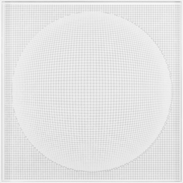 , 'Esfera Critica Blanca,' 2014, Galería RGR