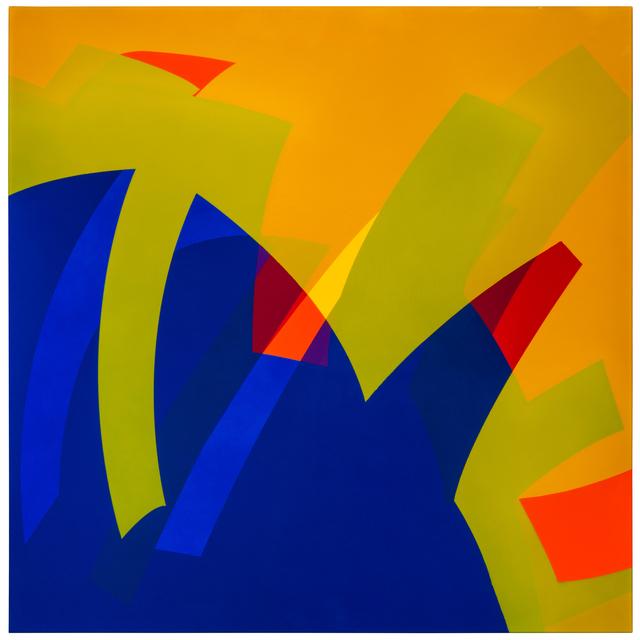 , 'MTCAL 9-8/2 Amarillo - Azul,' 2017, Marion Gallery