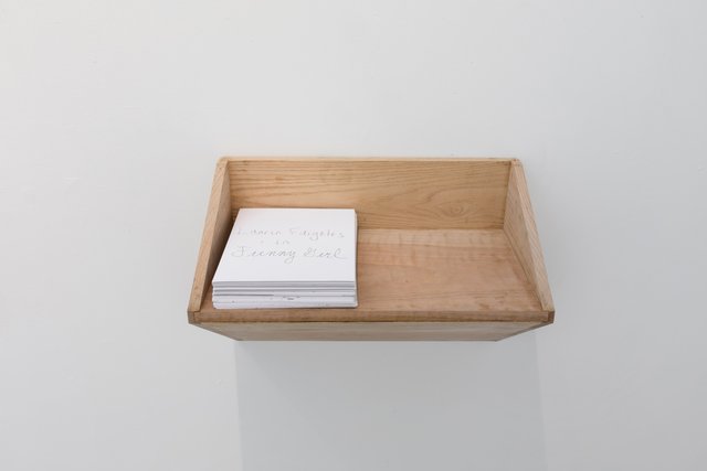 Lauren Faigeles, 'Untitled Shelf with Drawings', CRUSHCURATORIAL