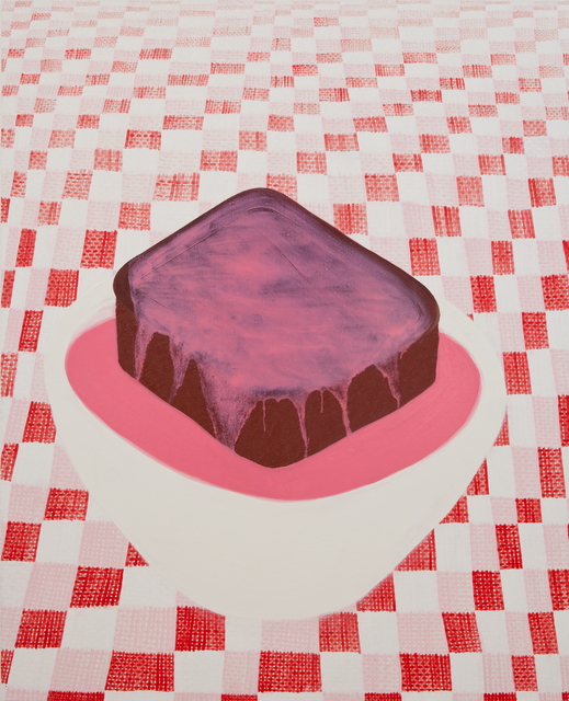 , 'Chocolate Sponge & Pink Custard,' 2018, GNYP Gallery