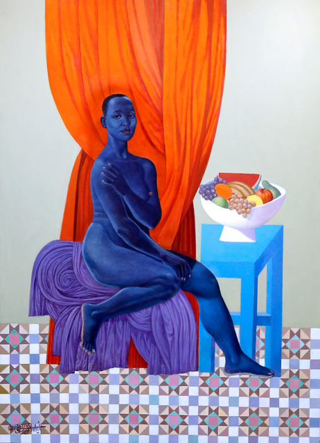 , 'Blue Angel,' 2017, Artspace Hamra