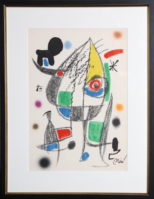 Joan Miró, 'Maravillas con Variaciones Acrosticas en el Jardin de Miro (Number 22)', 1975, RoGallery