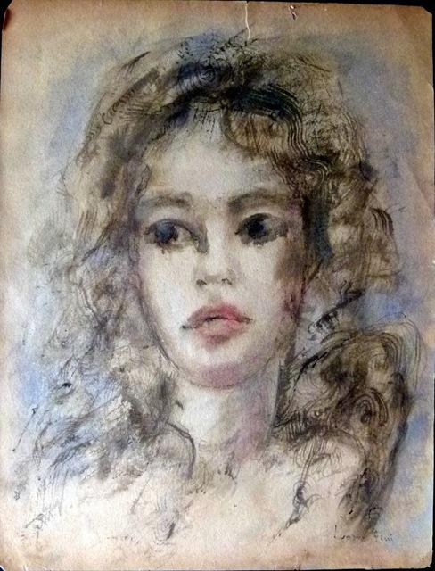 Leonor Fini, 'Woman Portrait', Tranter-Sinni Gallery