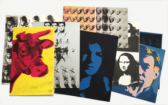 , 'Set of 8 Andy Warhol Portraits from Artists & Photographs,' 1970, Joseph K. Levene Fine Art, Ltd.