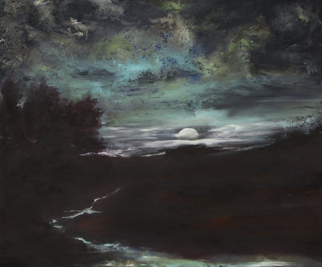 Jody Fallon, 'Moonrise', 2017, Painting, Oil, Abend Gallery