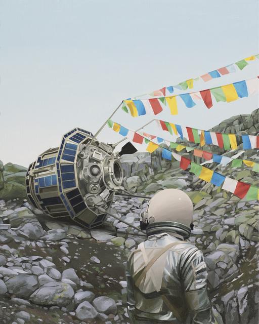 , 'Satellite,' 2017, Station 16 Gallery