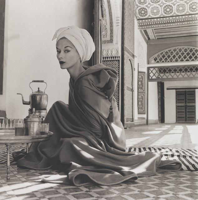 Irving Penn, 'Woman in Moroccan Palace (Lisa Fonssagrives-Penn), Marrakech', 1951-printed 1969, Smithsonian American Art Museum