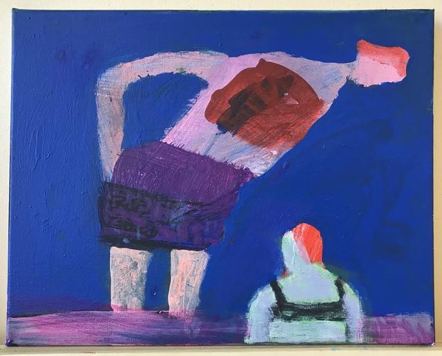 Katherine Bradford, 'Mother Daughter Swim', 2019, Painting, Acrylic on canvas, Rema Hort Mann Foundation Benefit Auction