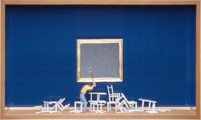 , 'Lovers I (Blau),' 2006, Mario Mauroner Contemporary Art Salzburg-Vienna