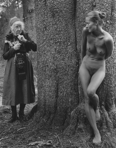 , 'Imogen and Twinka at Yosemite,' 1974, Scott Nichols Gallery
