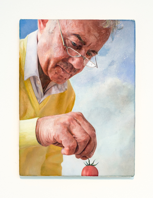 , 'Man with Tomato 3,' 2014, CHOI&LAGER