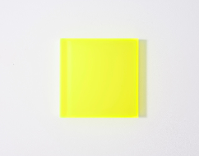, 'color satin yellow new york, e.a. 1/2,' 2018, Galerie Judith Andreae