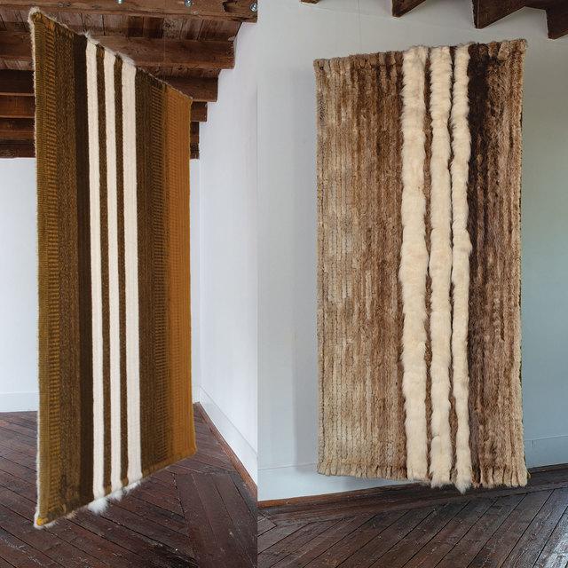 , 'Wool and Fur #233 & #362,' 1974, browngrotta arts